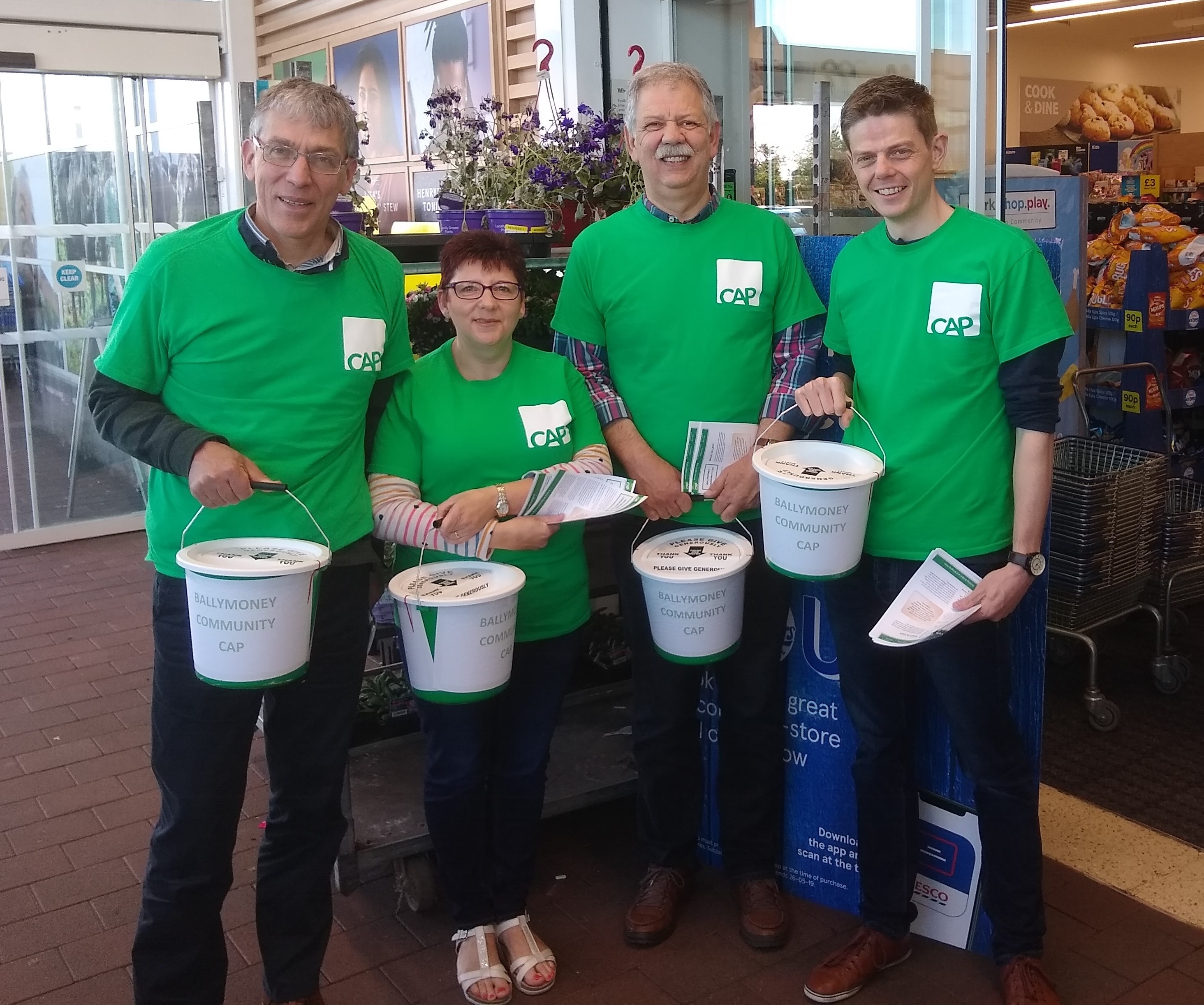 THOMAS TAGGART & SONS COLLECT FOR CAP BALLYMONEY