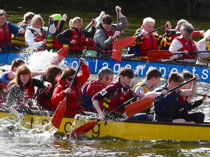 THOMAS TAGGART & SONS PARTICIPATE IN DRAGON BOAT CHALLENGE